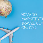 Travel clinic marketing through digital marketing channels such as social media marketing, Google set and content marketing